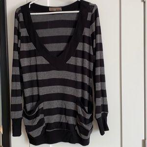 Lush Knit Crew Neck Pullover Medium